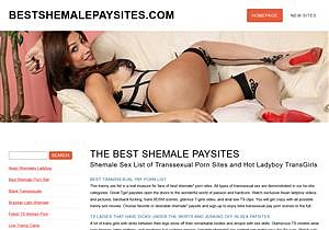 The Best Shemale Paysites
